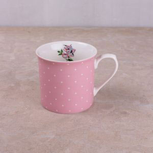 Bird Song Pink Spot Palace Mug