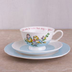 Bird Song Afternoon Tea Set