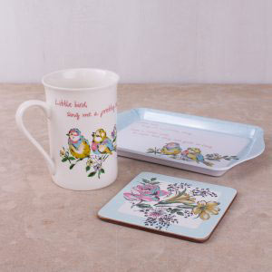 Bird Song Time For Tea Gift Set