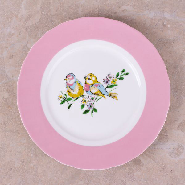 Bird Song Set Of 4 Side Plates