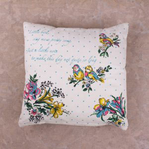 Bird Song Small Scatter Cushion