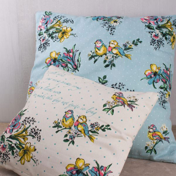 Bird Song Large Cushion