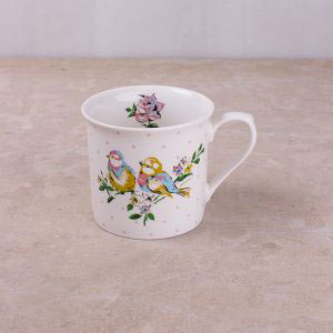 Bird Song White Bird Palace Mug