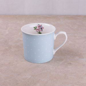 Bird Song Blue Spot Palace Mug