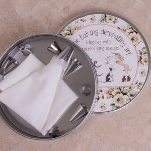 Cottage Flower 10 Piece Icing Set