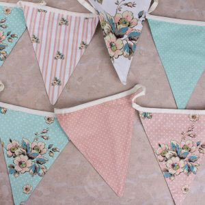 Cottage Flower Bunting