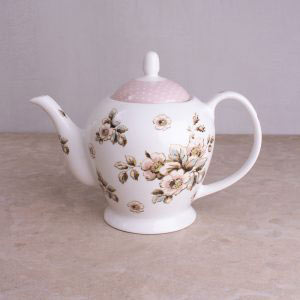 Cottage Flower Teapot