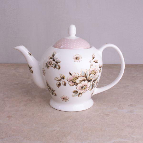 Cottage Flower Teapot