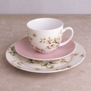 Cottage Flower Afternoon Tea Set