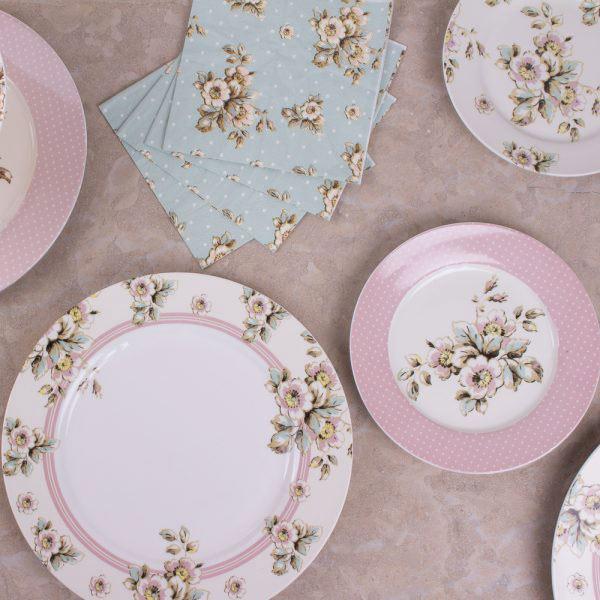 Cottage Flower Dinner Plate