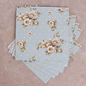 Cottage Flower Pack Of 25 Paper Napkins