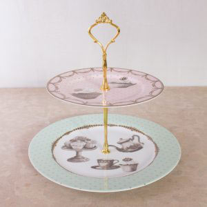 Cupcake Couture 2 Tier Cake Stand