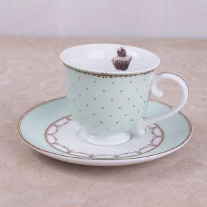 Cupcake Couture Tea Cup & Saucer
