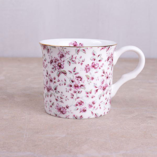 Ditsy Floral White Floral Palace Mug