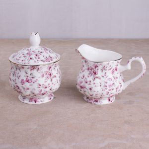 Ditsy Floral Sugar Bowl & Creamer