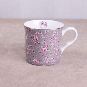 Ditsy Floral Grey Floral Palace Mug