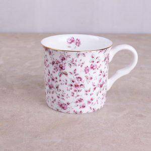 Ditsy Floral White Floral Palace Mug