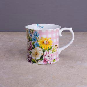 English Garden Pink Tankard Mug