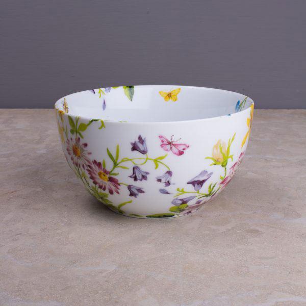 English Garden Floral Cereal Bowl