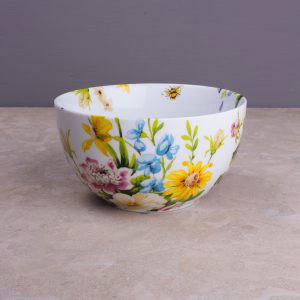 English Garden Floral Cereal Bowl