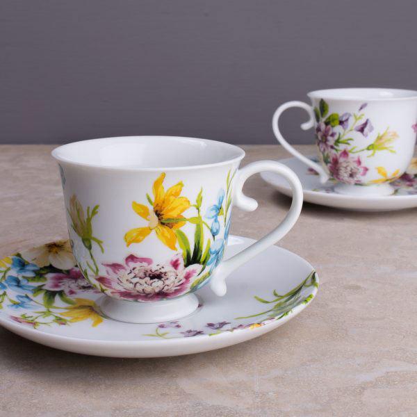 English Garden Tea Cup & Saucer
