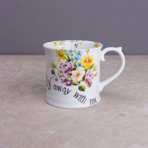 English Garden Fly Away Tankard Mug