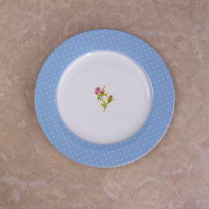 English Garden Dinner Plate