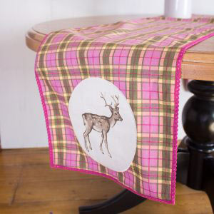 Highland Fling Stag Table Runner