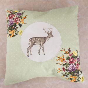 Highland Fling Large Stag Cushion