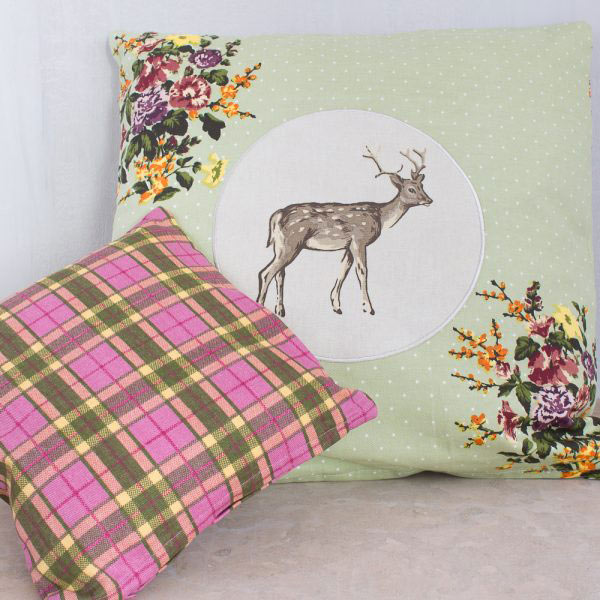 Highland Fling Small Tartan Cushion