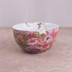 Highland Fling Tartan Floral Cereal Bowl-0