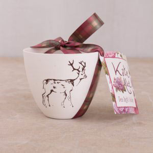 Highland Fling Stag Tealight Holder