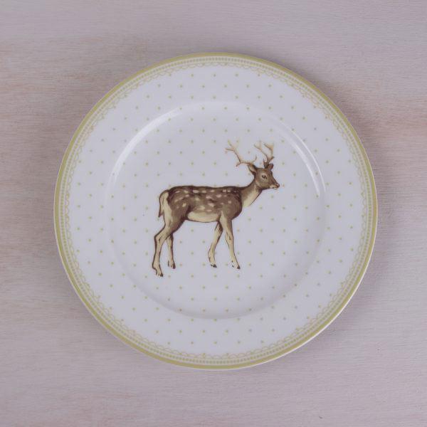 Highland Fling Stag Spot Side Plate-0