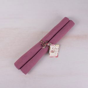 Highland Fling Set Of 2 Purple Mats