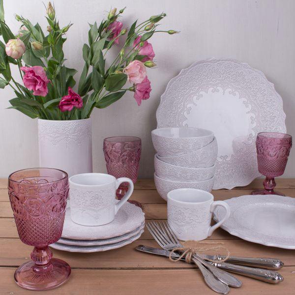 Rustic Lace Vase-584