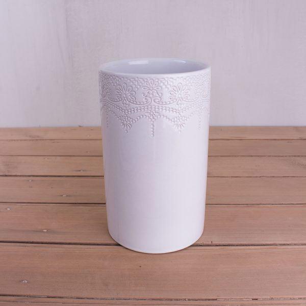 Rustic Lace Vase-0