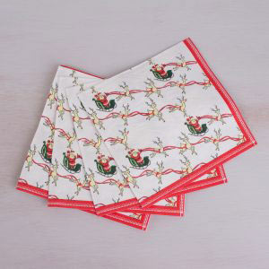 Yuletide Sleigh Ride Pack Of 25 Paper Napkins