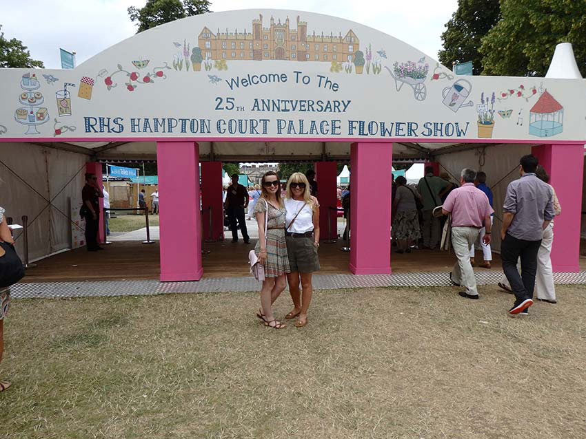 Hampton Court RHS Flower Show 2015