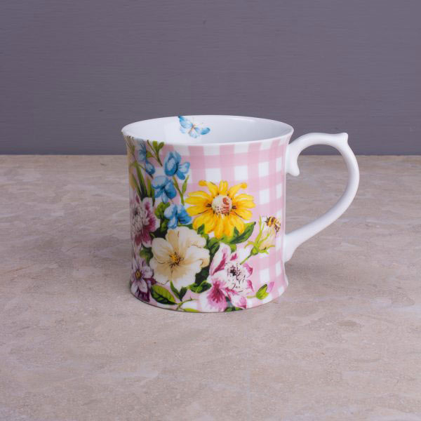 English Garden Tankard Mug Collection-829