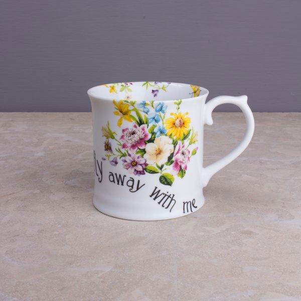 English Garden Tankard Mug Collection-831