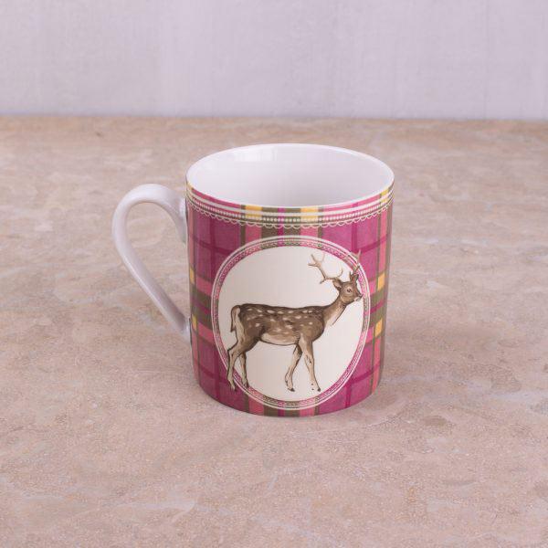 Highland Fling Tartan Stag Breakfast Set-880