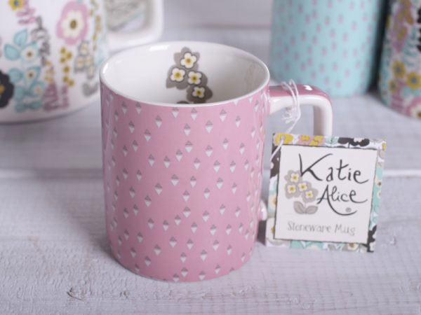 Pretty Retro Can Mug Pink-1034