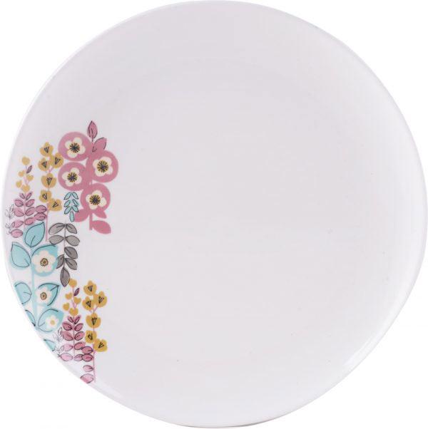 Pretty Retro Floral Dinner Plate-984
