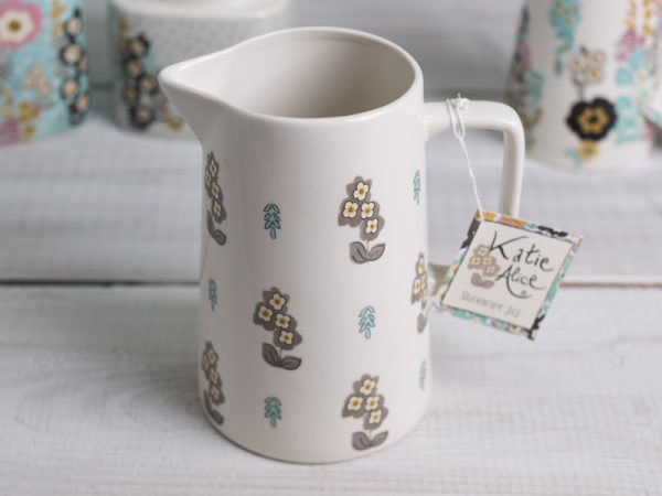 Pretty Retro Simple Floral Large Jug-965