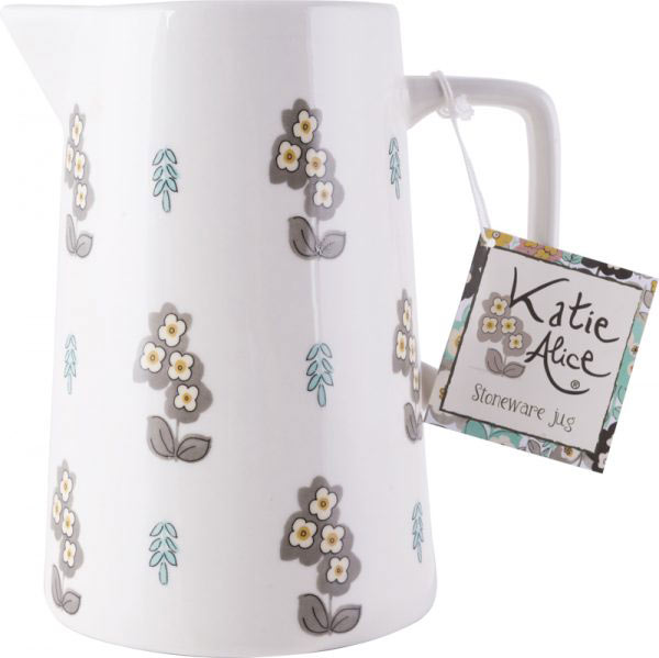 Pretty Retro Simple Floral Large Jug-962