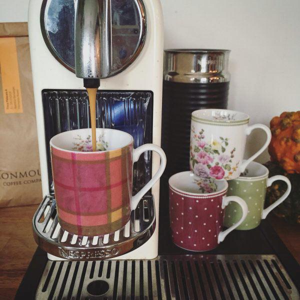 Highland Fling Set of 4 Espresso Cups-1062