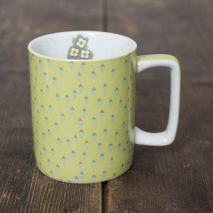 Pretty Retro Can Mug Yellow-0