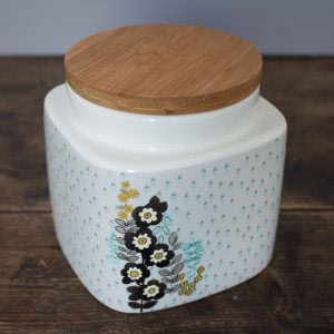 Pretty Retro Small Storage Jar-0