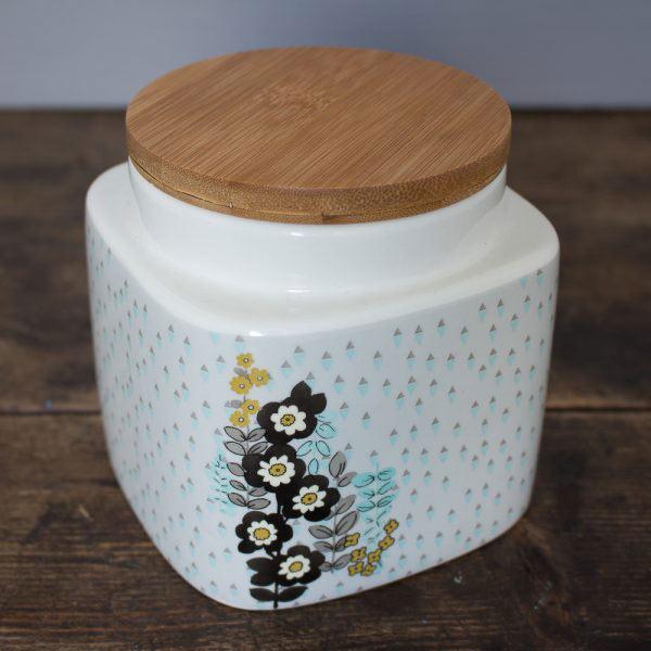 Pretty Retro Small Storage Jar-0