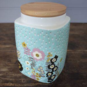 Pretty Retro Medium Storage Jar-0